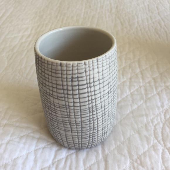 KASSATEX NY Raffia Porcelain Tumbler